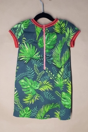 DESIGUAL Green Cheyenne Dress - Front full body