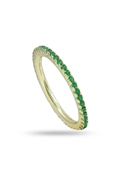 Jaimie Nicole Green Cz Ring - Product Mini Image