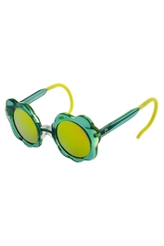 ZooBug Green Daisy Sunglasses - Front cropped