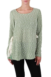 The Vintage Valet Green Dot Top - Product Mini Image