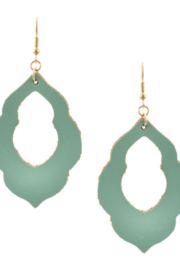 Bluebell Green Earrings - Product Mini Image