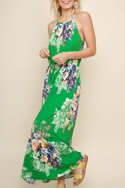 Umgee USA Green Floral Maxi - Product Mini Image