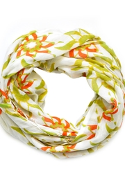 abbacino Green Floral Scarf - Product Mini Image