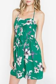 Sugar Lips Green Halter Dress - Product Mini Image