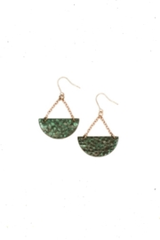 ac9113322bb8bc Owen Glass Green Glass Earrings from Omaha by Souq Ltq — Shoptiques