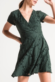 Black Swan Green Lace Dress - Product Mini Image