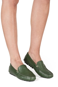 Pascucci Green Leather Loafer - Alternate List Image
