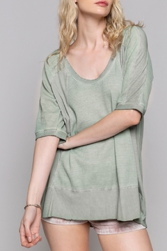 Shoptiques Product: Green Lily Tee