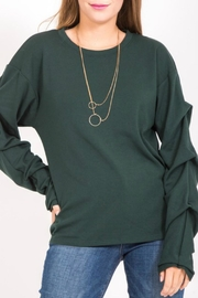 LoveRiche Green Long Sleeve - Product Mini Image