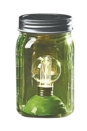 Roman Green Masonjar Light - Product Mini Image