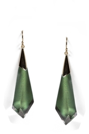 Alexis Bittar Green Opalescent Earrings - Product Mini Image