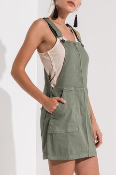 Others Follow  Green Overall Dress - Product List Image