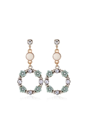 Fashion Pickle Green Pastel Earrings - Product Mini Image