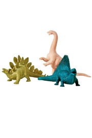 Rice DK Green Plastic Diosaur - Front full body
