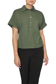 FRNCH Green Polo Shirt - Product Mini Image