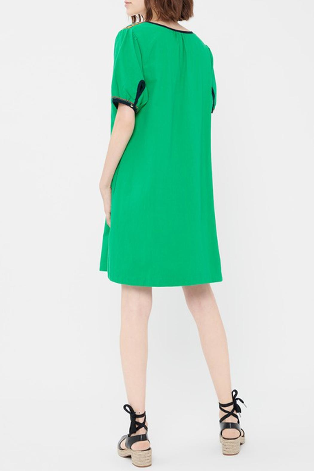 Acoté Green Prairie Dress - Side Cropped Image