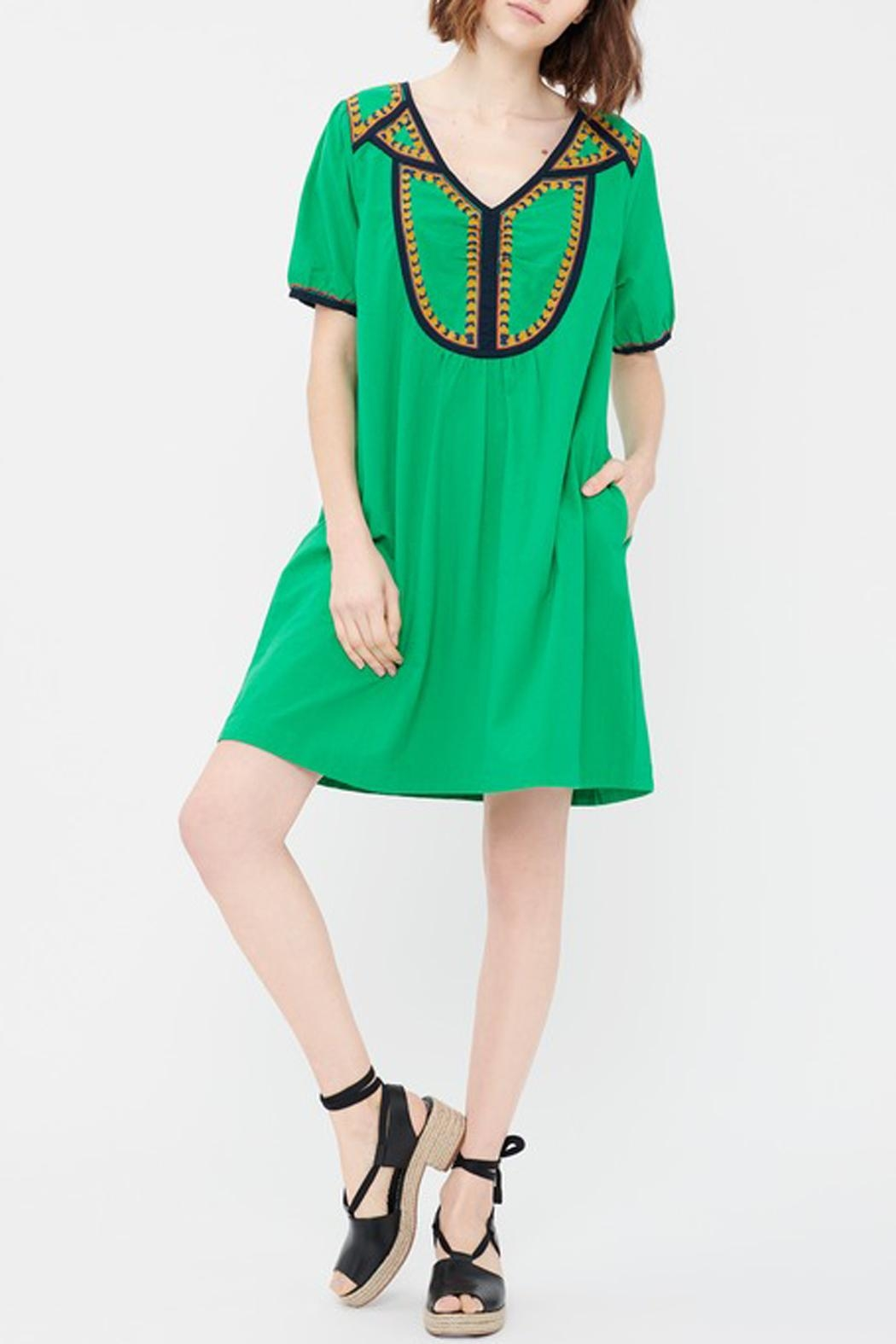 Acoté Green Prairie Dress - Main Image