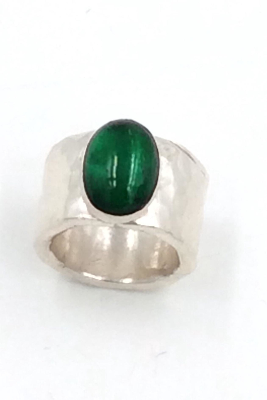 LJ Jewelry Designs Green Quartz Ring - Side Cropped Image