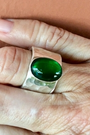 LJ Jewelry Designs Green Quartz Ring - Back cropped