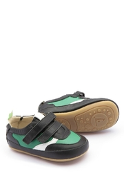 Tip Toey Joey Green Streety Shoes - Product Mini Image