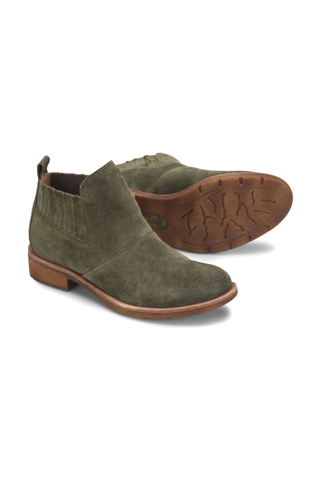 Sofft Green Suede Boot - Main Image
