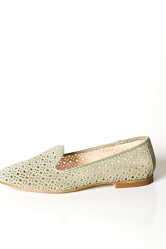 Pascucci Green Suede Loafer - Product List Image