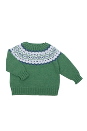 Fina Ejerique Green Sweater. - Front cropped