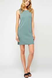 Gentle Fawn Green Sweater Dress - Product Mini Image