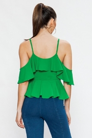 Jealous Tomato Green Tank Top - Side cropped