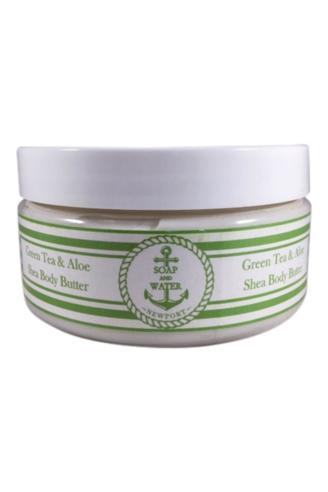 Soap and Water Newport GREEN TEA AND ALOE BODY BUTTER - Main Image
