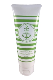 Soap and Water Newport GREEN TEA AND ALOE HAND CREAM - Product Mini Image