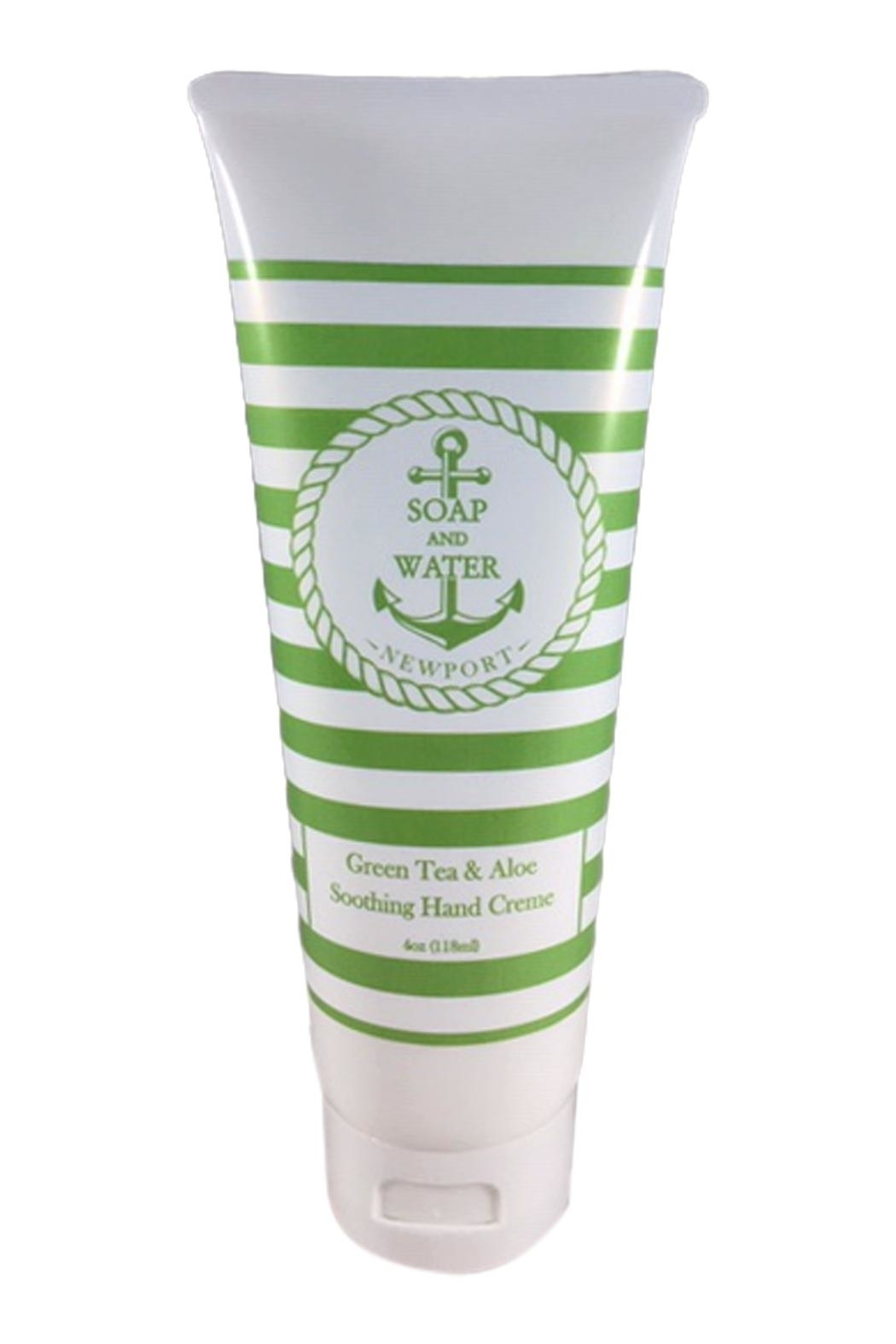 Soap and Water Newport GREEN TEA AND ALOE HAND CREAM - Main Image