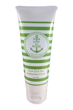 Soap and Water Newport GREEN TEA AND ALOE HAND CREAM - Alternate List Image