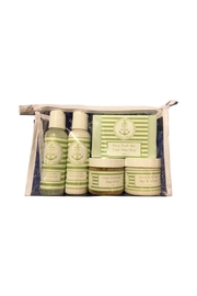 Soap and Water Newport GREEN TEA AND ALOE TRAVEL SKINCARE BAG - Front cropped