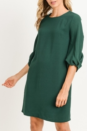 Gilli Green Tunic Dress - Product Mini Image