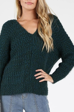 Shoptiques Product: Green-With-Envy Sweater