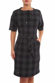 Green & Country Plaid Dress - Product Mini Image