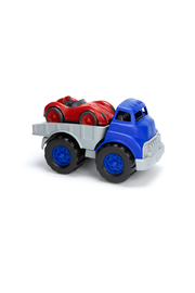 Green Toys Flatbed With Car - Front cropped