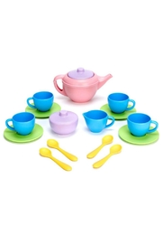 Green Toys Plastic Tea Set - Front cropped