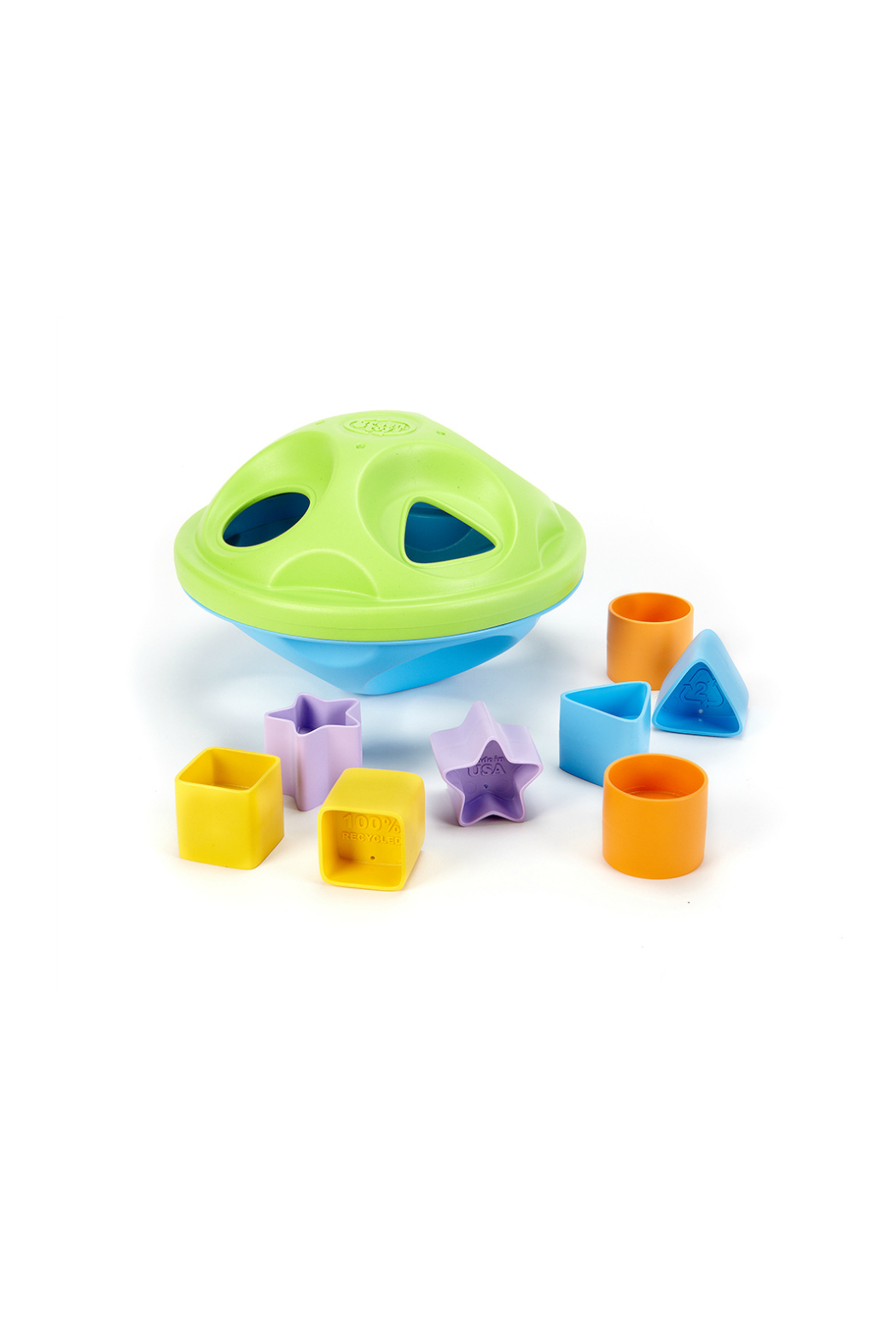 Green Toys Shape Sorter - Front Cropped Image