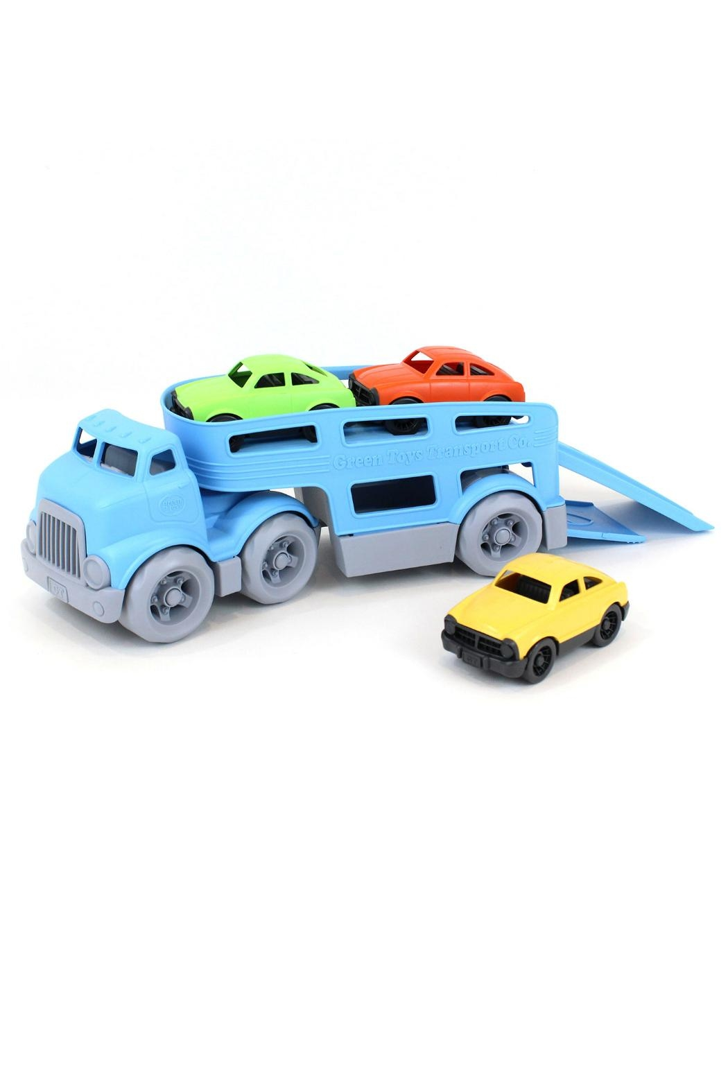 Green Toys Toy Car Carrier - Main Image