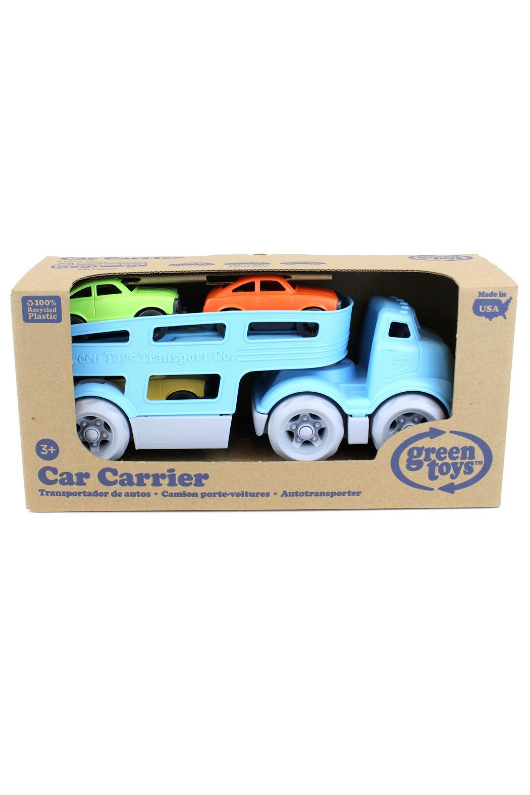Green Toys Toy Car Carrier - Front Full Image