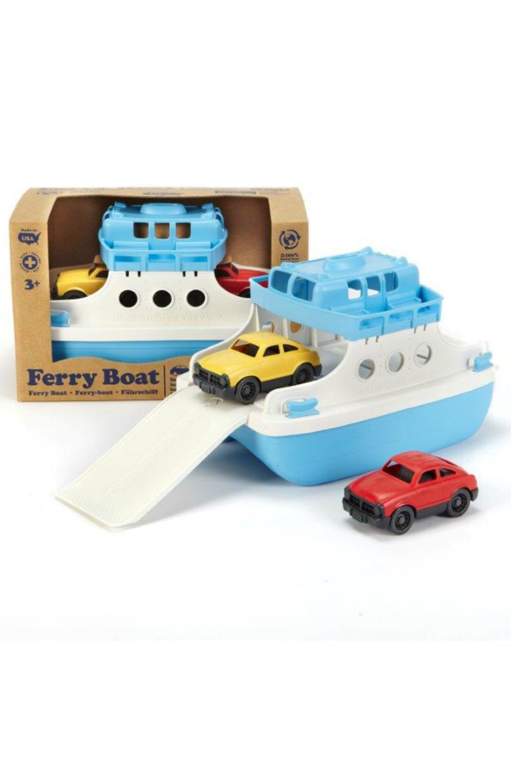 Green Toys Toy Ferry Boat - Front Full Image