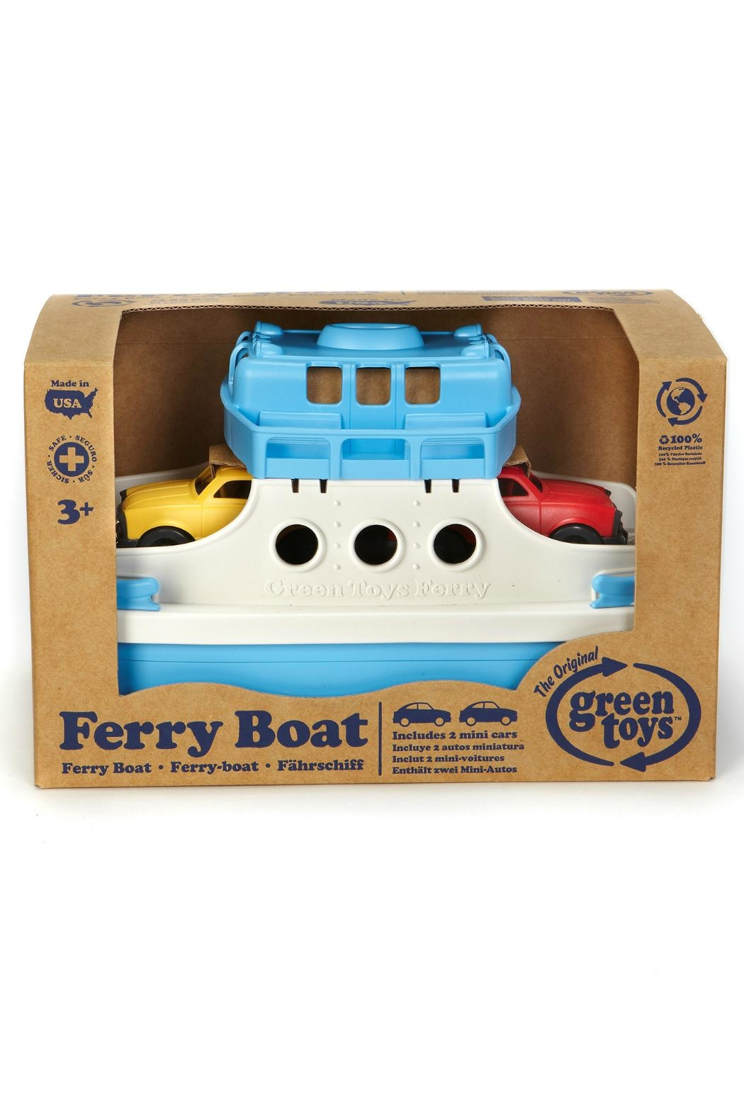 Green Toys Toy Ferry Boat - Side Cropped Image