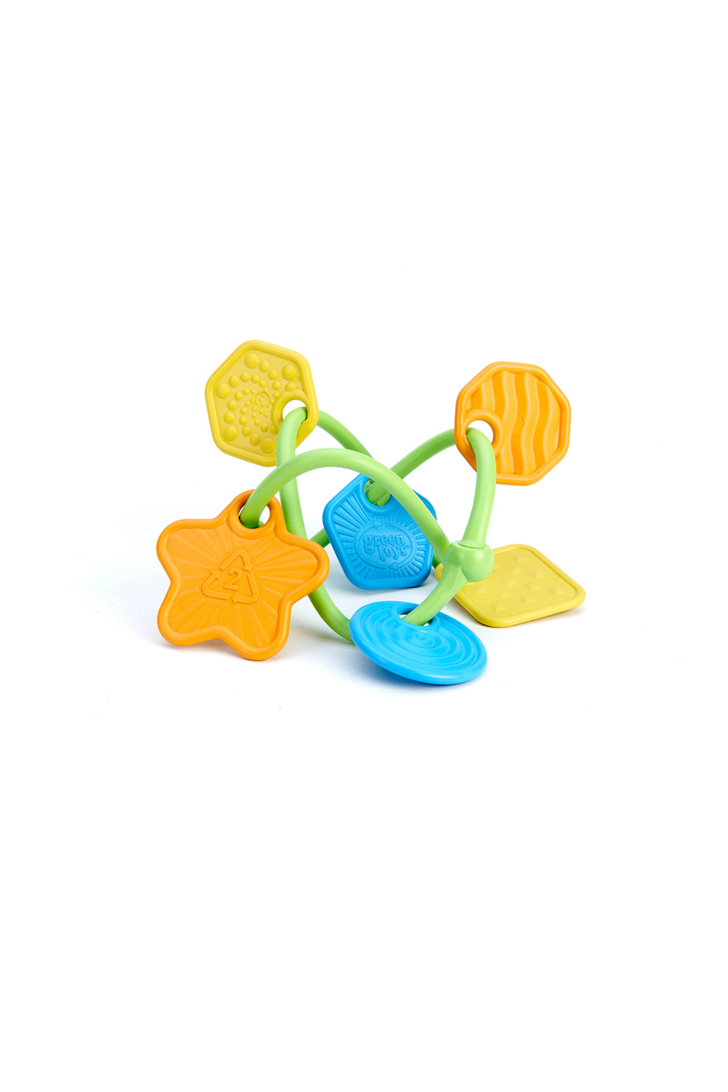 Green Toys Twist Teether - Front Cropped Image