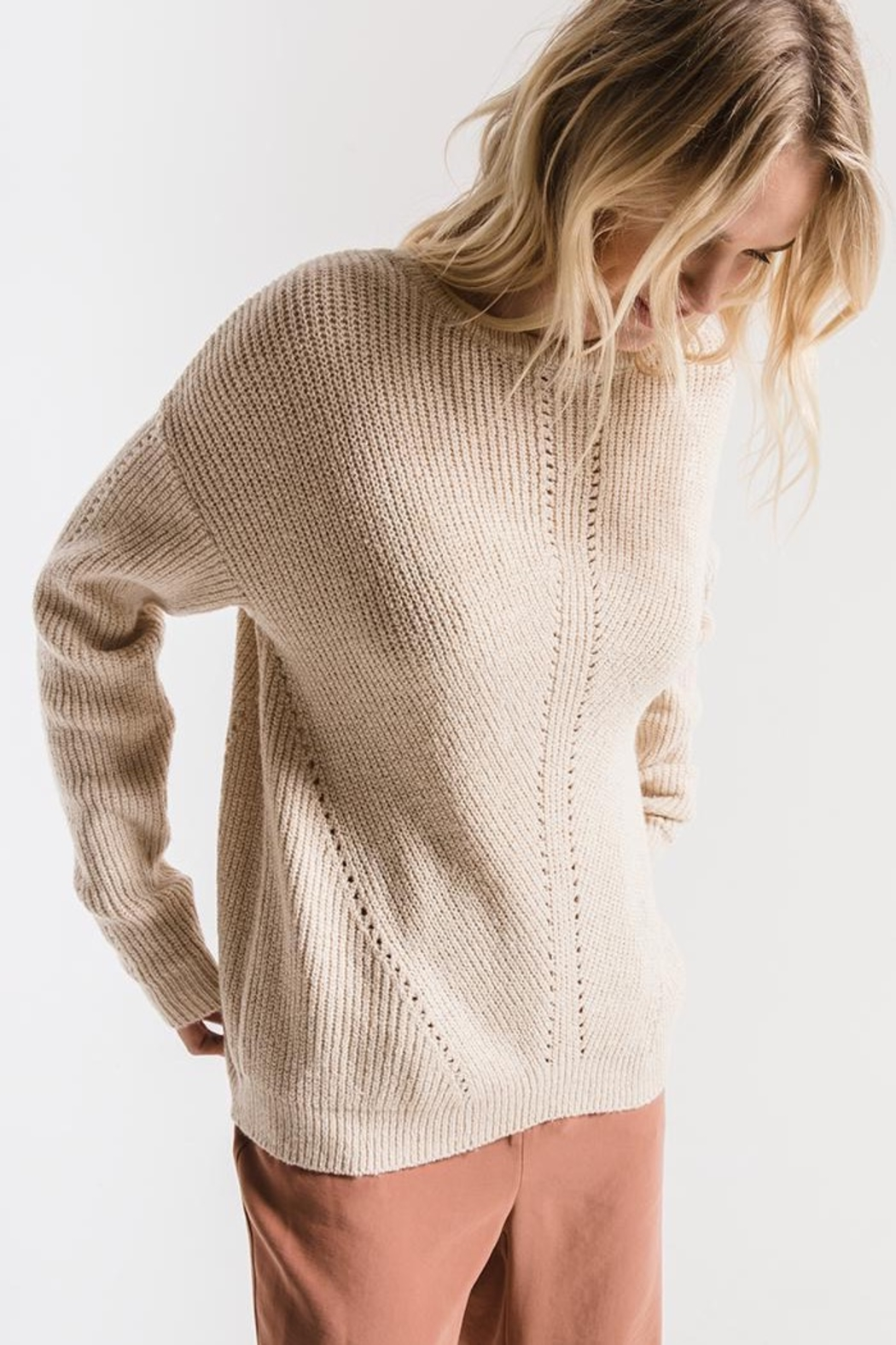 rag poets Greenpoint Sweater - Front Full Image