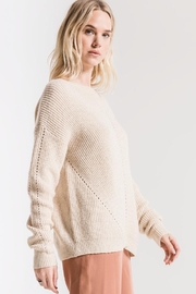 rag poets Greenpoint Sweater - Back cropped