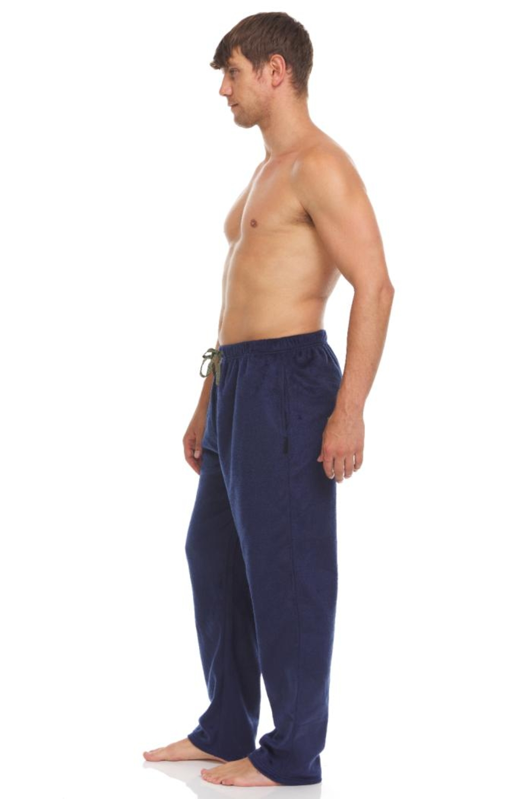 Greg Norman 2 Pack Microfleece Pants - Front Full Image