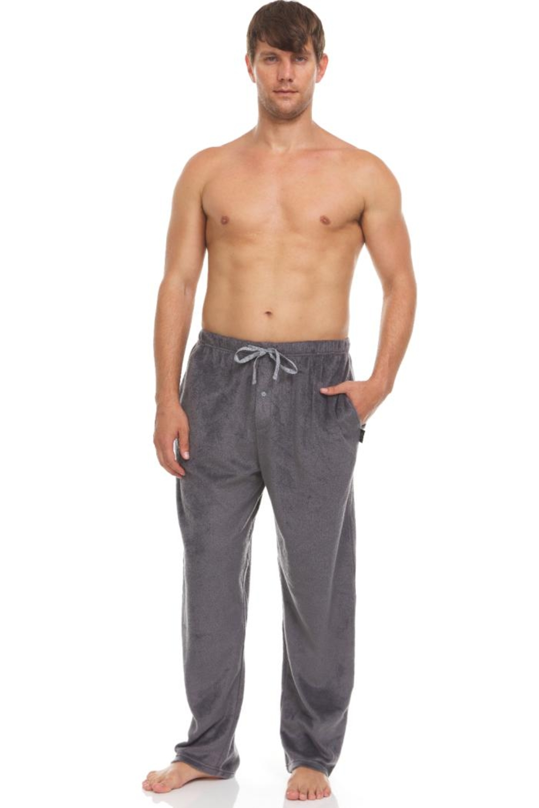 Greg Norman 2 Pack Microfleece Pants - Front Cropped Image
