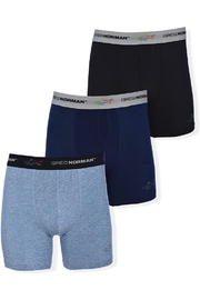 Greg Norman Mens Boxer Briefs - Performance 3-Pack Polyester/spandex - Product Mini Image